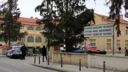 Ισχυρή έκρηξη σημειώθηκε σήμερα τα ξημερώματα στο Επαρχιακό Δικαστήριο Λευκωσίας, Δευτέρα 26 Φεβρουαρίου 2018. ΚΥΠΕ, ΚΑΤΙΑ ΧΡΙΣΤΟΔΟΥΛΟΥ