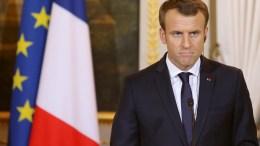 Ο πρόεδρος της Γαλλίας θα συνομιλήσει σύντομα με τον Τούρκο Πρόεδρο για τις επιχειρήσεις στην Αφρίν.  Φωτογραφία ΚΥΠΕ