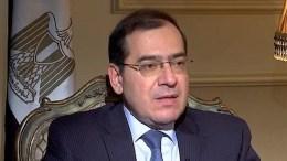 Egyptian petroleum minister Tariq al-Mulla