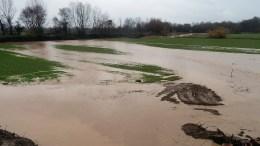 Σοβαρά προβλήματα προκάλεσαν οι τελευταίες έντονες βροχοπτώσεις σε ολόκληρη την Περιφερειακή Ενότητα Τρικάλων, καθώς έχουν υπερχειλίσει όλοι οι παραπόταμοι του Πηνειού ποταμού, Σάββατο 24 Φεβρουαρίου 2018. ΑΠΕ-ΜΠΕ, ΑΠΟΣΤΟΛΗΣ ΖΩΗΣ