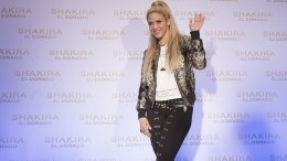 FILE PHOTO: Colombian singer Shakira. EPA, MARTA PEREZ