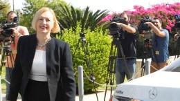 FILE PHOTO. Η ειδική αντιπρόσωπος του γ.γ. του ΟΗΕ στην Κύπρος Ελίζαμπεθ Σπέχαρ. ΓΤΠ,  Χ. ΑΒΡΑΑΜΙΔΗ, ΚΥΠΕ