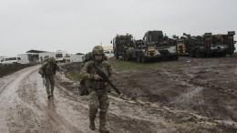 Turkish soldiers training with their tanks near Syrian-Turkish border, at Hatay, Turkey, 23 January 2018. Reports stateFile Photo, . EPA, SEDAT SUNA