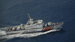 "File Photo - Σκάφος της τουρκικής ακτοφυλακής παρόμοιο με αυτό που εμβόλισε το ""Γαύδος"" - Πηγή: Τουρκική Ακτοφυλακή"