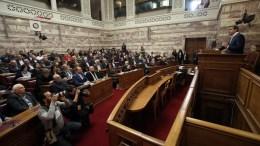 Ο πρωθυπουργός Αλέξης Τσίπρας μιλάει στη συνεδρίαση της Κοινοβουλευτικής Ομάδας του ΣΥΡΙΖΑ, στη Βουλή, Αθήνα Δευτέρα 12 Φεβρουαρίου 2018. ΑΠΕ-ΜΠΕ, ΣΥΜΕΛΑ ΠΑΝΤΖΑΡΤΖΗ