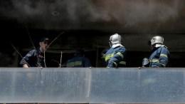 Η πυρκαγιά εκδηλώθηκε στο διαμέρισμα που διέμενε o Αναστάσιος Ιωσηφίδης στο Περιστέρι. Φωτογραφία αρχείου, ΑΠΕ-ΜΠΕ, Παντελής Σαίτας
