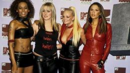 To βρετανικό συγκρότημα Spice Girls. Φωτογραφία ΑΠΕ-ΜΠΕ