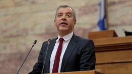 File Photo: Ο πρόεδρος της Κοινοβουλευτικής Ομάδας του Ποταμιού Σταύρος Θεοδωράκης. Φωτογραφία Αρχείου, ΑΠΕ-ΜΠΕ, Παντελής Σαίτας