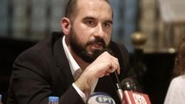 File Photo: Ο υπουργός Επικρατείας και κυβερνητικός εκπρόσωπος, Δημήτρης Τζανακόπουλος. ΑΠΕ-ΜΠΕ, ΣΥΜΕΛΑ ΠΑΝΤΖΑΡΤΖΗ