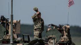 Οι ΗΠΑ έτοιμες να επέμβουν ξανά ενάντια στις συριακές κυβερνητικές δυνάμεις.  Φωτογραφία ΑΠΕ-ΜΠΕ