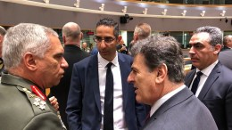 File Photo: Ο υπουργός Άμυνας της Κύπρου, Σάββας Αγγελίδης και ο πρώην Α/ΓΕΕΘΑ, Μιχάλης Κωσταράκος ΚΥΠΕ-ΥΠΑΜ
