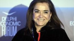 File Photo: Η πρώην υπουργός Εξωτερικών, Ντόρα Μπακογιάννη ΑΠΕ-ΜΠΕ, Ορέστης Παναγιώτου