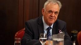 Ο αντιπρόεδρος της κυβέρνησης Γιάννης Δραγασάκης αναλαμβάνει και υπουργός Οικονομίας & Ανάπτυξης, Τετάρτη 28 Φεβρουαρίου 2018. ΑΠΕ-ΜΠΕ, Αλέξανδρος Μπελτές