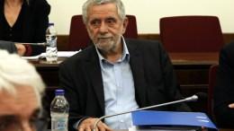 File Photo: Ο πρόεδρος της προανακριτικής επιτροπής της Βουλής, Θοδωρής Δρίτσας  ΑΠΕ-ΜΠΕ, Συμέλα Παντζαρτζή