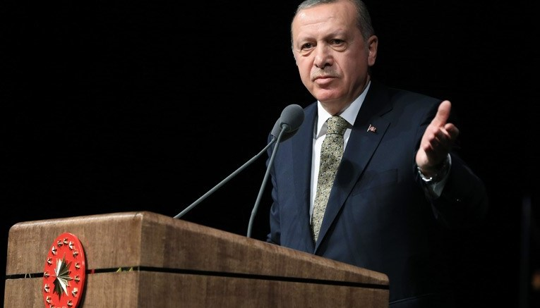 O Τούρκος Πρόεδρος  Ταγίπ Ερντογάν. Photo via Turkish Presidency