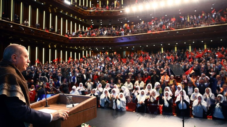 President Recep Tayyip Erdogan. Photo via Turkish Presidency