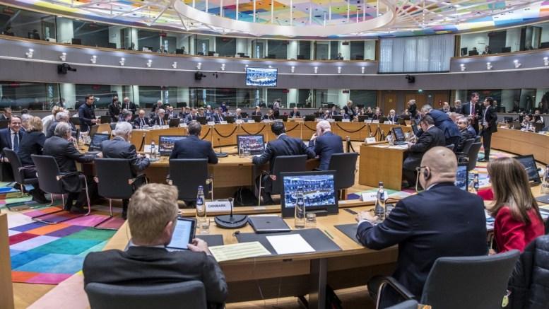 Στιγμιότυπο από τη συνεδρίαση των υπουργών Εξωτερικών της Ευρωπαϊκής Ένωσης. Copyright: European Union