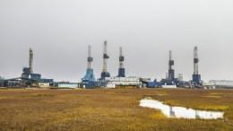 File Photo: Oil rigs sit in Alaska, USA. EPA, JIM LO SCALZO