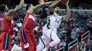 File Photo: Milwaukee Bucks forward Giannis Antetokounmpo.EPA,MICHAEL REYNOLDS