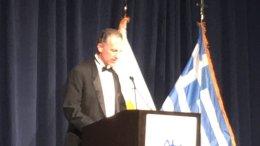 Ο Αμερικανός αναπληρωτής υφυπουργός Εξωτερικών, Τζόναθαν Κόεν. Φωτογραφία ΛΕΝΑ ΑΡΓΥΡΗ