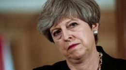 File Photo: Η πρωθυπουργός της Βρετανίας, Τερέζα Μέι  EPA, SIMON DAWSON