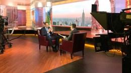 Ο πρόεδρος της Νέας Δημοκρατίας, Κυριάκος Μητσοτάκης σε συνέντευξη, στο «Bloomberg», την Πέμπτη 15 Μαρτίου 2018, στην Ουάσιγκτον. ΑΠΕ-ΜΠΕ, ΓΡΑΦΕΙΟ ΤΥΠΟΥ ΝΔ, ΔΗΜΗΤΡΗΣ ΠΑΠΑΜΗΤΣΟΣ