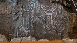 The late Roman mosaics found during work for the Thessaloniki metro Fhoto APE-MPE