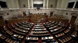 File Photo: Άποψη της αίθουσας της Ολομέλειας του Κοινοβουλίου από τα θεωρεία ΑΠΕ-ΜΠΕ, Ορέστης Παναγιώτου
