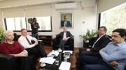 File Photo: Πρόεδροι και επικεφαλής των κομμάτων και κινήσεων που στήριξαν τον Νικόλα Παπαδόπουλο στις πρόσφατες προεδρικές εκλογές είχαν σήμερα συνάντηση στα Γραφεία της ΕΔΕΚ. ΚΥΠΕ, ΚΑΤΙΑ ΧΡΙΣΤΟΔΟΥΛΟΥ