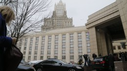 Cars of foreign diplomats arrive to the Russian Foreign Ministry building in Moscow, Russia, 21 March 2018. EPA, MAXIM SHIPENKOV