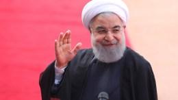 File Photo: Ο ηγέτης του Ιράν, Χασάν Ρουχανί EPA, HARISH TYAGI