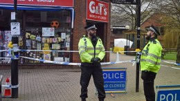 File Photo: Flowers are placed on sign posts next to the spot where ex Russian spy Sergei Skripal aged 66 and his daughter Yulia, aged 33 were found suffering from extreme exposure to a rare nerve agent.EPA,GERRY PENNY