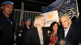File Photo: Η ειδική αντιπρόσωπος του ΓΓ του ΟΗΕ στην Κύπρο Ελίζαμπεθ Σπέχαρ  ΚΥΠΕ, ΚΑΤΙΑ ΧΡΙΣΤΟΔΟΥΛΟΥ