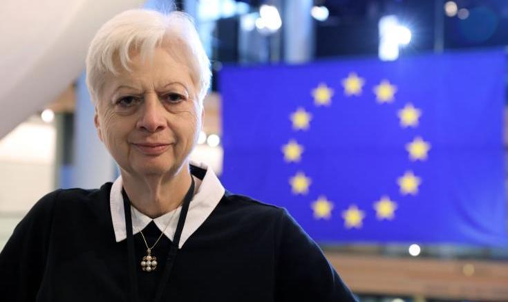 File Photo: Η Ευρωβουλευτής Ελένη Θεοχάρους .  Φωτογραφία Αρχείο ΚΥΠΕ