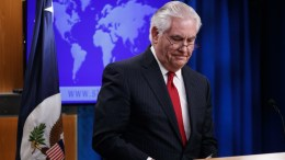 Outgoing US Secretary of State Rex Tillerson delivers farewell remarks in the State Department briefing room in Washington, DC, USA, 13 March 2018. EPA, SHAWN THEW