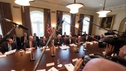 The President  Donald J. Trump. 8 March 2018 Photo via Twitter @realDonaldTrump