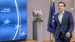 Ο πρωθυπουργός Αλέξης Τσίπρας στην Σύνοδο Κορυφής της ΕΕ στις Βρευξέλλες. 22/03/2018, Copyright: European Union