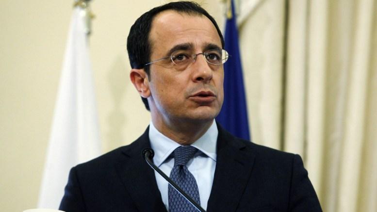 File Photo: Ο υπουργός Εξωτερικών της Κυπριακής Δημοκρατίας Νίκος Χριστοδουλίδης κάνει δηλώσεις στους δημοσιογράφους. ΑΠΕ-ΜΠΕ, ΑΛΕΞΑΝΔΡΟΣ ΒΛΑΧΟΣ