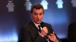 Ο Declan Costello, επικεφαλής της αποστολής της ΕΕ για το ελληνικό πρόγραμμα, μιλάει σε συζήτηση στο Οικονομικό Φόρουμ Δελφών που γίνεται στο Ευρωπαικό Πολιτιστικό Κέντρο Δελφών, Κυριακή 4 Μαρτίου 2018. ΑΠΕ-ΜΠΕ, ΟΡΕΣΤΗΣ ΠΑΝΑΓΙΩΤΟΥ