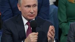 Russian President Vladimir Putin, 02 March 2018. EPA, ALEXEI DRUZHININ, SPUTNIK, KREMLIN