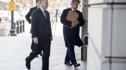 File Photo: Former Trump campaign advisor Sam Nunberg (L) arrives to testify before the grand jury in Special Council Robert Mueller's Russia investigation at the Federal Courthouse in Washington, DC, USA, 09 March 2018. Nunberg had previously said that he would not comply with the subpoena but ultimately decided to comply. EPA,SHAWN THEW