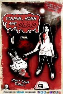 Young HIgh and Dead MK1 One Sheet 2013 UK