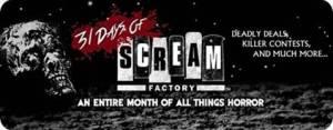 31 days of scream factory