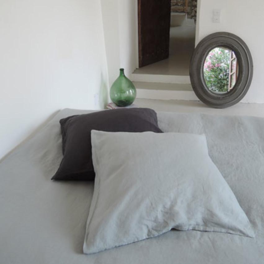 linge de lit lin decoclico 1 h ll blogzine. Black Bedroom Furniture Sets. Home Design Ideas