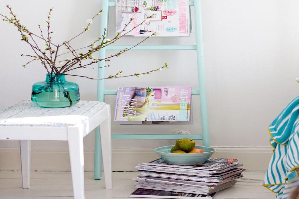 Echelle Deco Ikea : 12 mani res originales de d corer avec une chelle ~ Nature-et-papiers.com Idées de Décoration