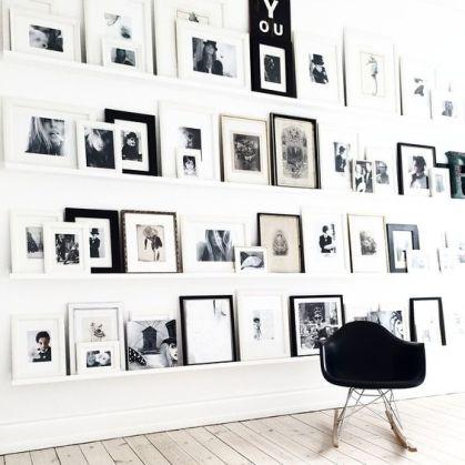 18 mani res de d corer un mur blanc h ll blogzine. Black Bedroom Furniture Sets. Home Design Ideas
