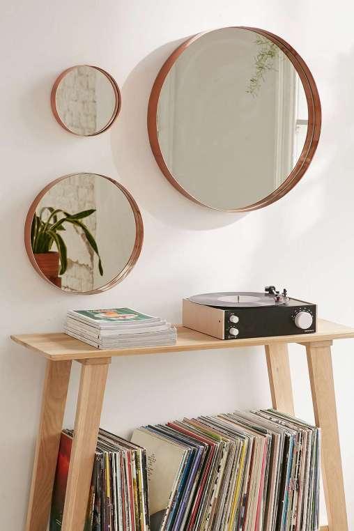 H ll blogzine page 3 sur 229 blog d co scandinave for Miroir xxl rond