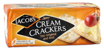 Photo of Jacob's Cream Crackers Package