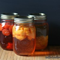 Back To Basics- How To Make Fruit Flavored Vinegar With Berries and Soft Fleshed Fruit