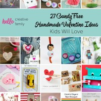 27 Candy Free Handmade Valentine Ideas Kids Will Love